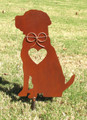 Labrador Retriever Dog Metal Garden Stake - Metal Yard Art - Metal Garden Art - Pet Memorial 3