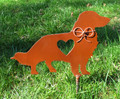 Long Haired Dachshund Pet Memorial