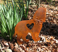 Cocker Spaniel Dog Metal Garden Stake - Metal Yard Art - Metal Garden Art - Pet Memorial
