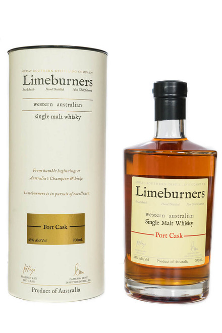 Limeburners Port Cask 43% 700ml