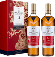 Macallan 12 Year Old Double Cask Year of the Pig Limited Edition Twin Pack