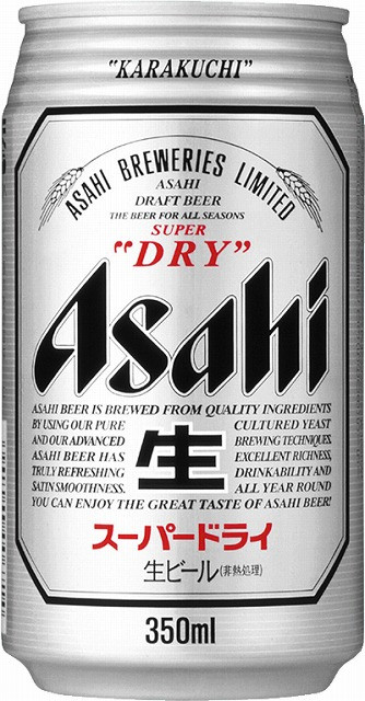 Asahi 350ml Can ( Imported from Japan )