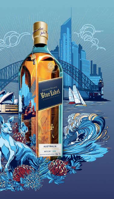 Johnnie Walker Blue Label Nomad Australia Limited Edition 700ml