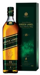 Johnnie Walker Green 15YR 1Litre - OLD VINTAGE