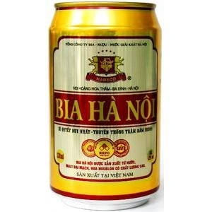 Bia ( Beer ) Hanoi Cans