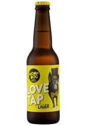 Moon Dog Lager Love Tap