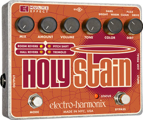 Electro Harmonix    Holy Stain  Distortion/Reverb/Pitch/Tremolo Multi-Effect