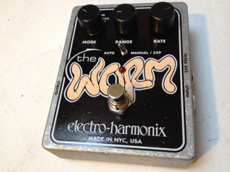 Electro Harmonix    Worm  Analog Wah/Phaser/Vibrato/Tremolo