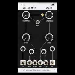 Vintage Synth Lab   VCF-74 (MK2) - Voltage Controlled Filter