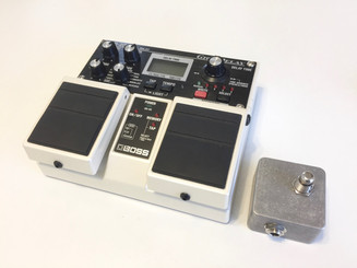 Used Boss DD-20 Giga Delay with Tap foot switch SOLD