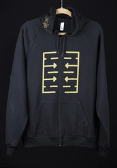 Make Noise René Hoodie Metallic Gold