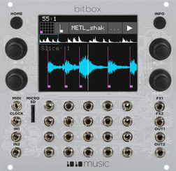 1010MUSIC  Bitbox – Touchscreen Sampler Module