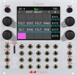 1010MUSIC Fxbox Performance Effects Module