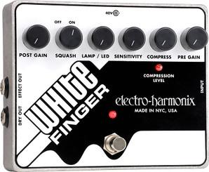 Electro Harmonix    White Finger  Analog Optical Compressor
