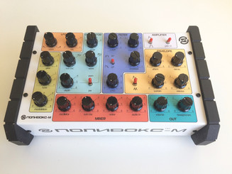 ELTA MUSIC  Polivoks-M synth (limited multi color on white)