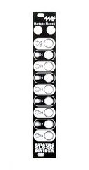4ms RCD Faceplate - Black