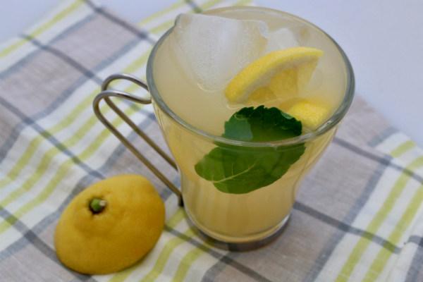 Green Tea Ginger Cooler Cocktail