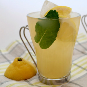Green Tea Ginger Cooler Cocktail