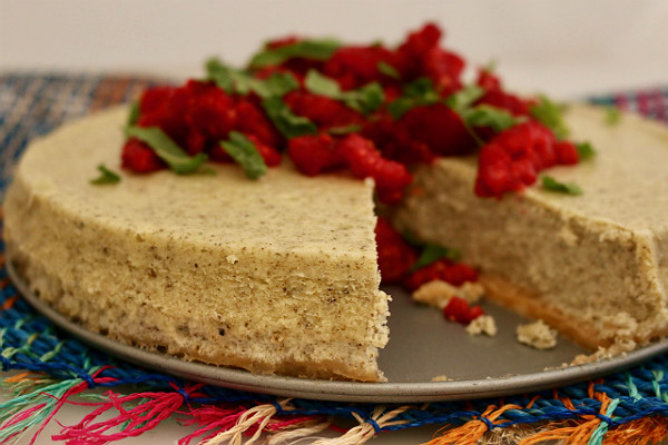 Teatulia Green Tea Cheesecake