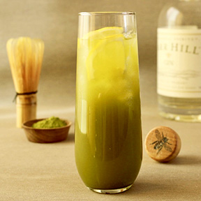 Matcha Bees Knees Cocktail Recipe