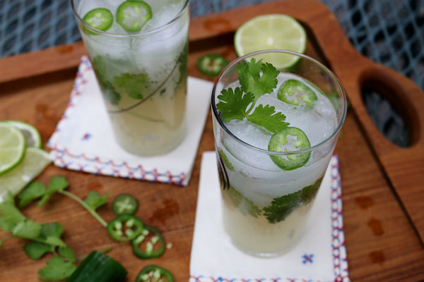 The Tequila Cilantro Cocktail