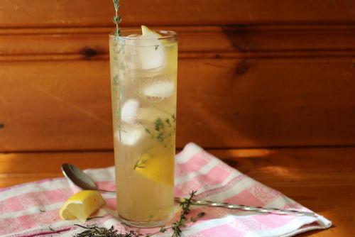 White Tea Smash Cocktail Recipe