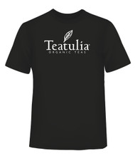 Black Teatulia Men's T-Shirt - Front
