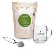 Green Loose Leaf Tea Gift Set
