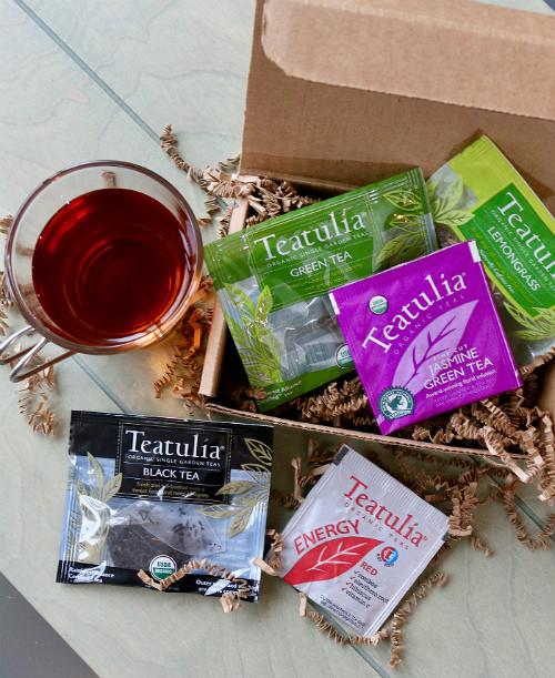 Teatulia Organic Tea Taster Pack