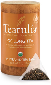 Oolong Tea 16ct Pyramid Bag Eco-Canister