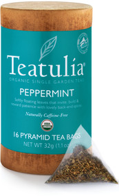 Peppermint Herbal Tea 16ct Eco-Canister