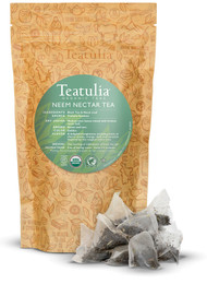 Organic Neem Tea - 50ct Pyramid Tea Bags