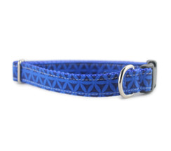 The Blues Dog Collar