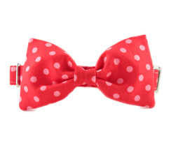 Dottie Bow Tie Dog Collar