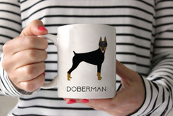 Doberman Coffee Mug