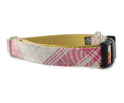 Jasper Plaid Dog Collar