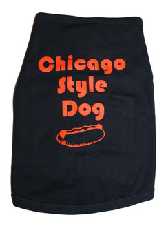 Chicago Style Dog T-Shirt
