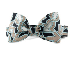 Craftsman Bow Tie Dog Collar
