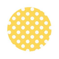 Lemon Dot Dog Leash