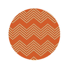 Orange Splash Chevron Dog Leash