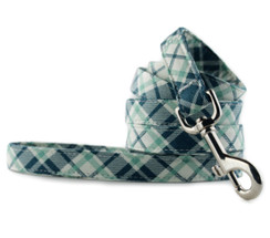 Grasshopper Plaid Dog Leash
