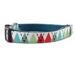 Argyle Dog Collar