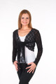 Stretch Lace Tie Jacket (LONG SLEEVE)
