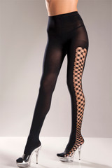Fence Net Sides Pantyhose