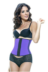 vedette waist trainer-solid purple