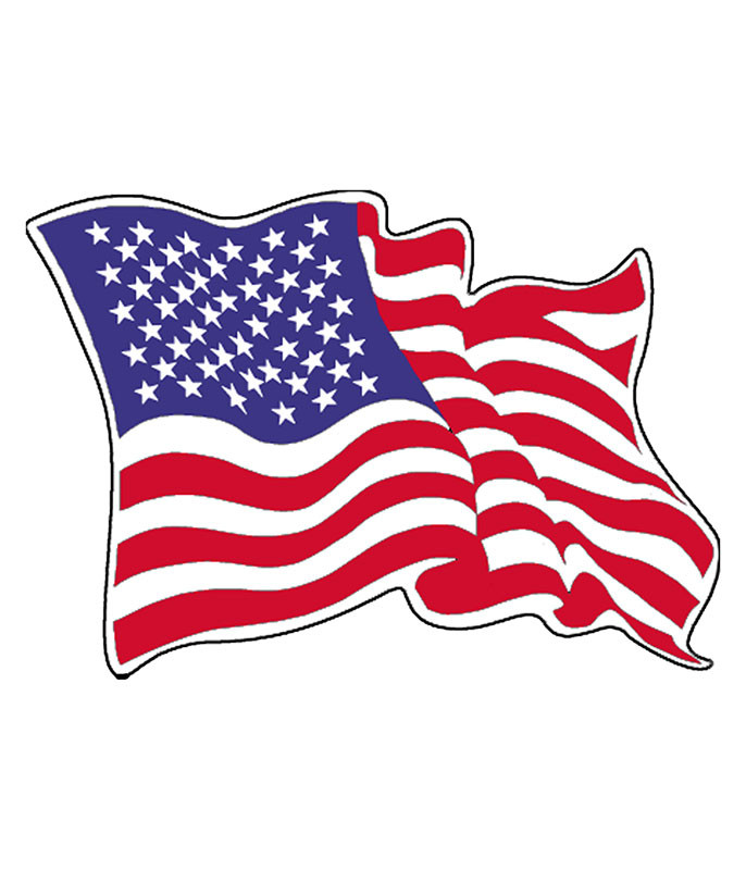 Old Glory Sticker
