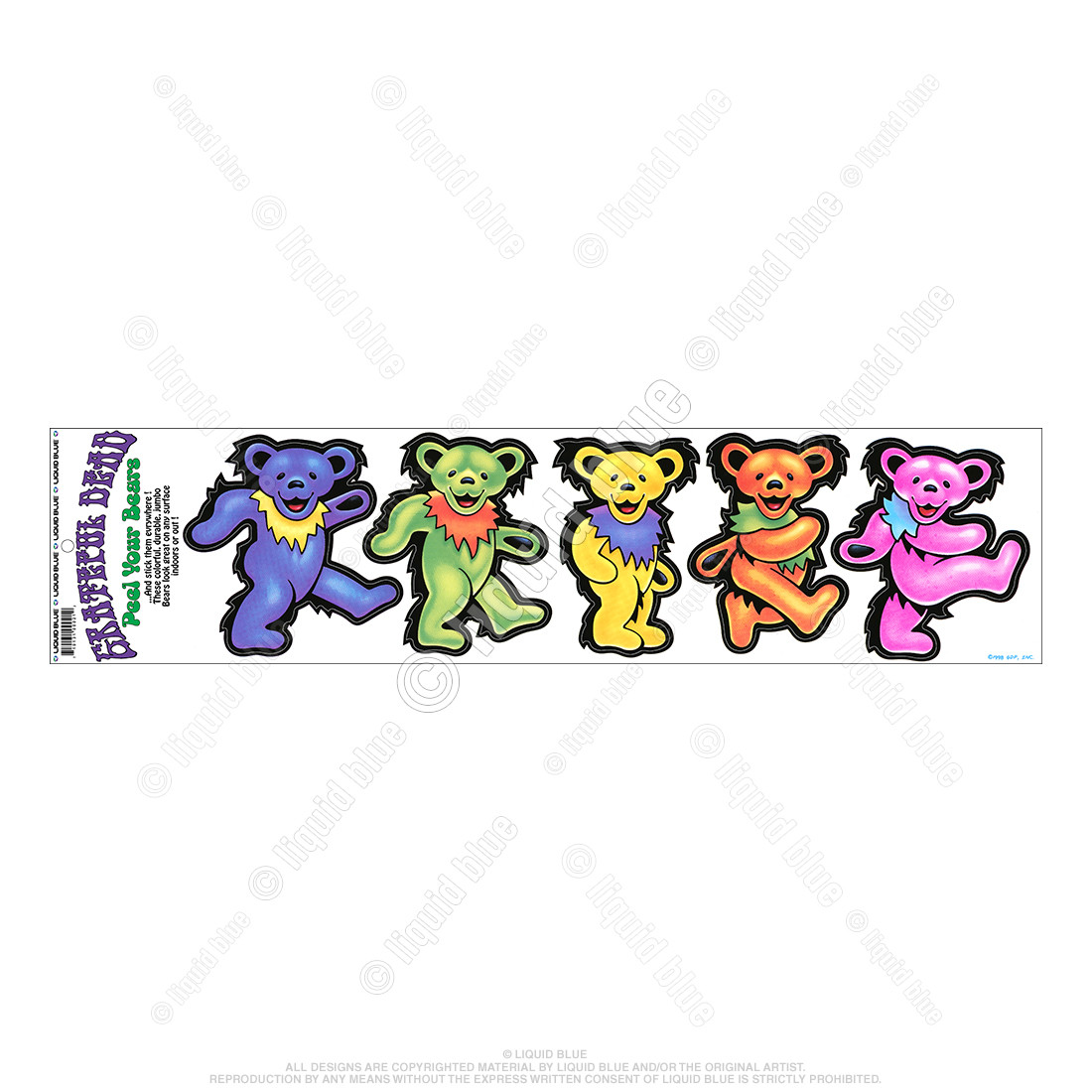 Big Bears Diecut Sticker