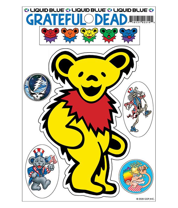 Yellow Bear Diecut Sticker