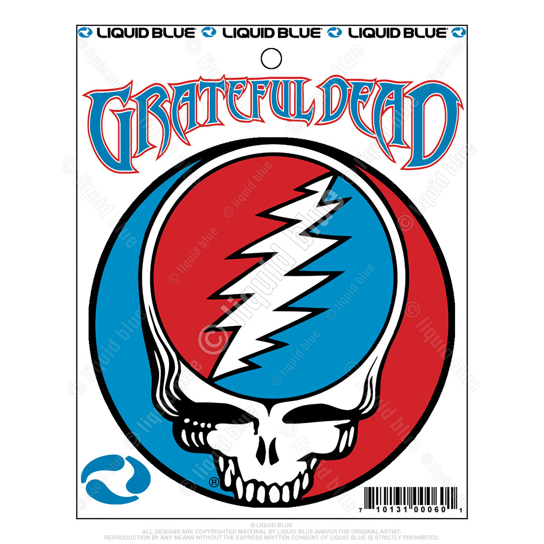 Steal Your Face 3 Inch Mylar Sticker