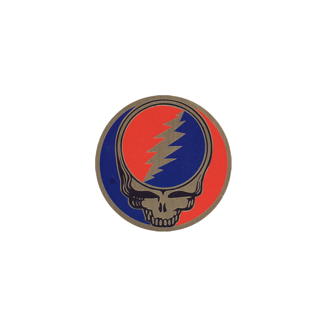 Steal Your Face 1 Inch Metallic Sticker